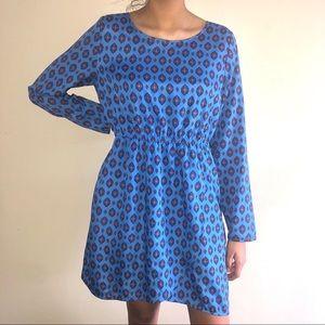 J. Crew Blue Dress 10